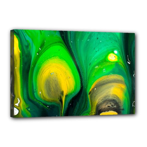 Art Abstract Artistically Painting Canvas 18  X 12  (stretched) by Pakrebo