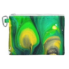 Art Abstract Artistically Painting Canvas Cosmetic Bag (xl)
