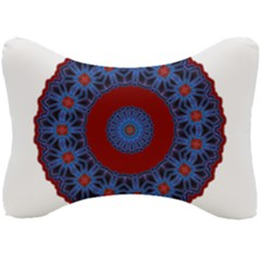 Mandala Pattern Round Ethnic Seat Head Rest Cushion