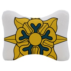 U S  Army Military Intelligence Corps Branch Insignia Velour Seat Head Rest Cushion by abbeyz71