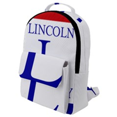Lincoln Highway Marker Flap Pocket Backpack (small) by abbeyz71