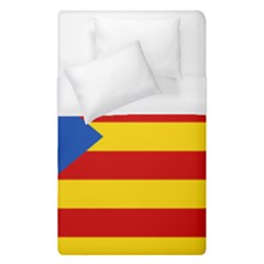 Blue Estelada Catalan Independence Flag Duvet Cover (single Size) by abbeyz71