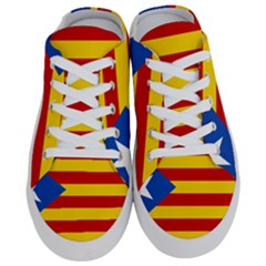 Blue Estelada Catalan Independence Flag Half Slippers by abbeyz71