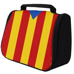 Blue Estelada Catalan Independence Flag Full Print Travel Pouch (big) by abbeyz71