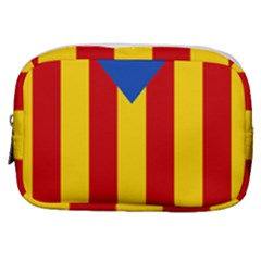 Blue Estelada Catalan Independence Flag Make Up Pouch (small)