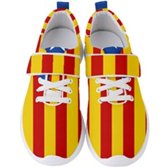 Blue Estelada Catalan Independence Flag Men s Velcro Strap Shoes by abbeyz71