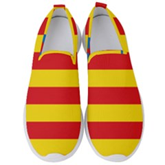 Valencian Nationalist Senyera Men s Slip On Sneakers by abbeyz71