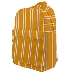Nice Stripes In Honey Orange  Classic Backpack by TimelessFashion