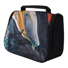 Art Modern Painting Background Full Print Travel Pouch (small)