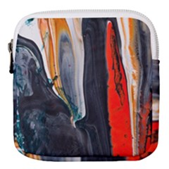 Art Modern Painting Background Mini Square Pouch