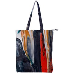 Art Modern Painting Background Double Zip Up Tote Bag