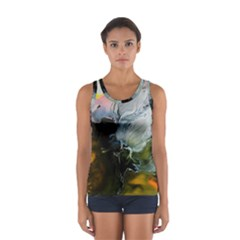 Art Abstract Painting Sport Tank Top