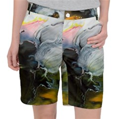 Art Abstract Painting Pocket Shorts