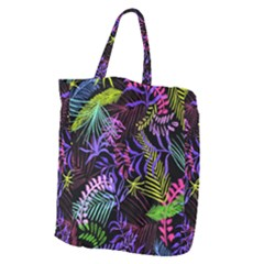 Leaves Nature Design Plant Giant Grocery Tote