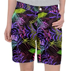 Leaves Nature Design Plant Pocket Shorts