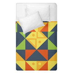 Background Geometric Color Duvet Cover Double Side (single Size)