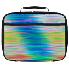 Wave Rainbow Bright Texture Full Print Lunch Bag