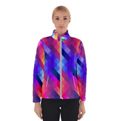 Abstract Background Colorful Pattern Winter Jacket