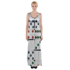 Woah, Domino Maxi Thigh Split Dress by WensdaiAmbrose