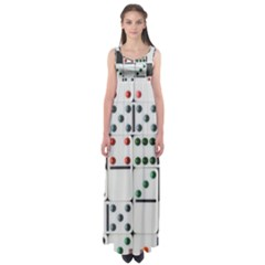 Woah, Domino Empire Waist Maxi Dress by WensdaiAmbrose