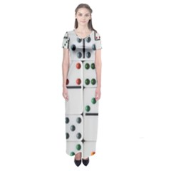 Woah, Domino Short Sleeve Maxi Dress by WensdaiAmbrose