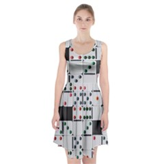 Woah, Domino Racerback Midi Dress by WensdaiAmbrose