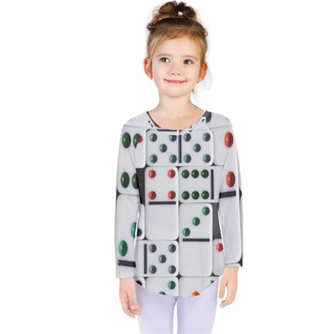 Woah, Domino Kids  Long Sleeve Tee by WensdaiAmbrose