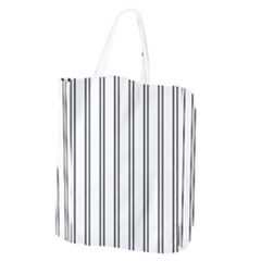 Nice Stripes In White  Giant Grocery Tote