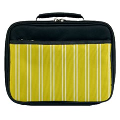 Nice Stripes In Corn Yellow  Lunch Bag