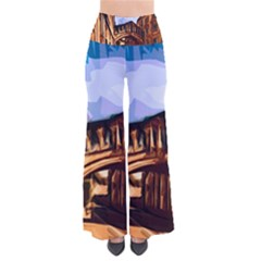 Street Architecture Building So Vintage Palazzo Pants