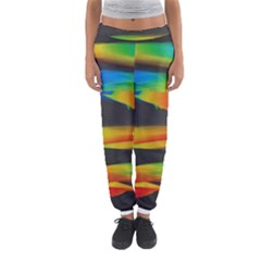 Colorful Background Women s Jogger Sweatpants