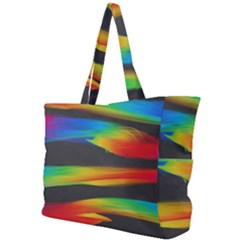 Colorful Background Simple Shoulder Bag