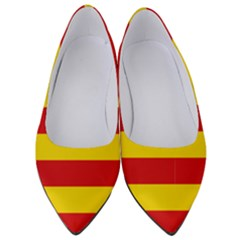Flag Of Valencia  Women s Low Heels by abbeyz71