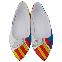 Flag Map Of Valencia Women s Low Heels by abbeyz71