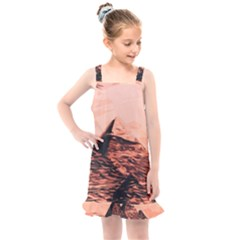 Pyramid Egypt Monumental Kids  Overall Dress