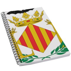 City Of Valencia Coat Of Arms 5 5  X 8 5  Notebook