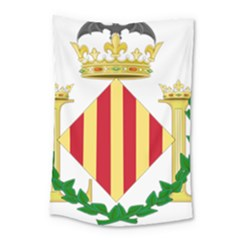 City Of Valencia Coat Of Arms Small Tapestry by abbeyz71