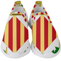 City Of Valencia Coat Of Arms Kids  Slip On Sneakers