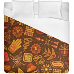Pattern Background Ethnic Tribal Duvet Cover (king Size)
