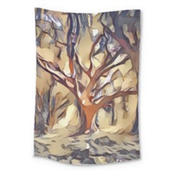 Tree Forest Woods Nature Landscape Large Tapestry