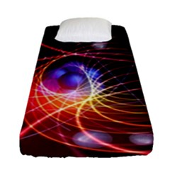 Physics Quantum Physics Particles Fitted Sheet (single Size)