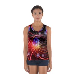 Physics Quantum Physics Particles Sport Tank Top