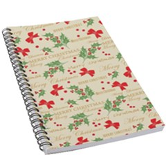 Christmas Paper Scrapbooking 5 5  X 8 5  Notebook by Pakrebo
