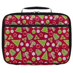 Christmas Paper Scrapbooking Pattern Full Print Lunch Bag