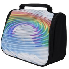 Rainbow Clouds Intimacy Intimate Full Print Travel Pouch (big)