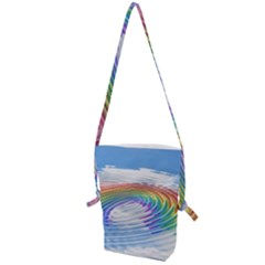 Rainbow Clouds Intimacy Intimate Folding Shoulder Bag