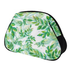 Leaves Green Pattern Nature Plant Full Print Accessory Pouch (small)