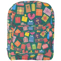 Presents Gifts Background Colorful Full Print Backpack