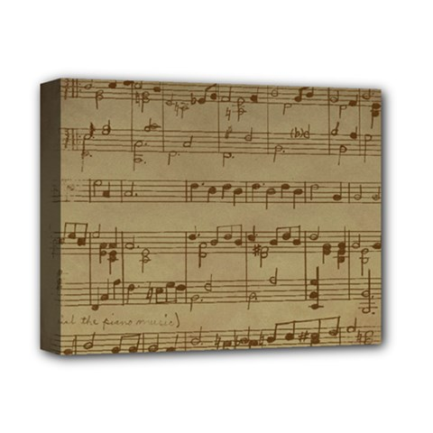 Vintage Sheet Music Background Deluxe Canvas 14  X 11  (stretched)