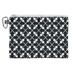 Abstract Background Arrow Canvas Cosmetic Bag (xl)